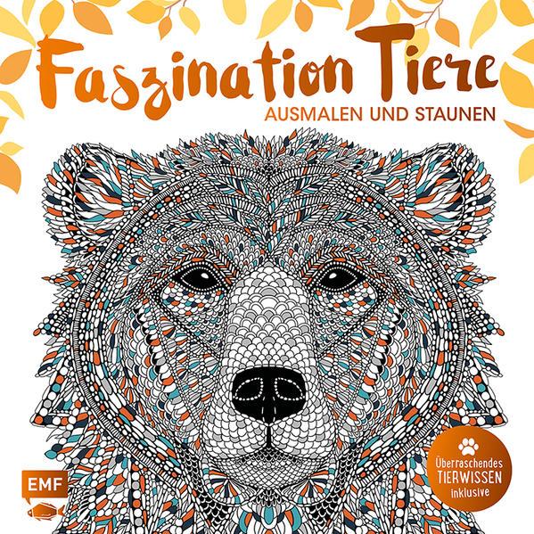 Faszination Tiere – Ausmalen und Staunen - Coverbild