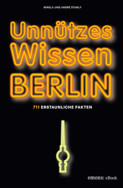 Unnützes Wissen Berlin - Coverbild