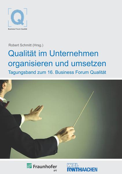 Qualität im Unternehmen organisieren und umsetzen - Coverbild
