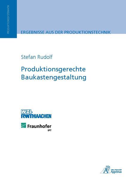 Produktionsgerechte Baukastengestaltung - Coverbild