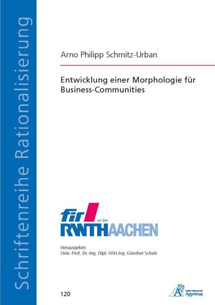 Entwicklung einer Morphologie für Business-Communities - Coverbild