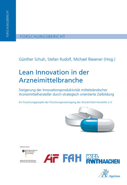 Lean Innovation in der Arzneimittelbranche - Coverbild