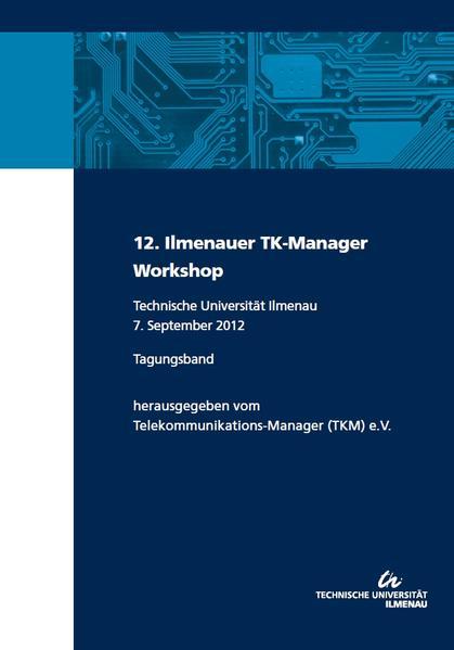 12. Ilmenauer TK-Manager-Workshop - Coverbild