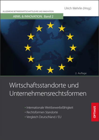 Wirtschaftsstandorte und Unternehmensrechtsformen - Coverbild