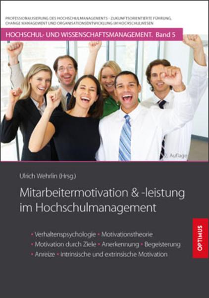 Mitarbeitermotivation und -leistung im Hochschulmanagement - Coverbild
