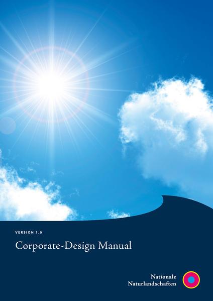 Nationale Naturlandschaften Corporate-Design Manual - Coverbild