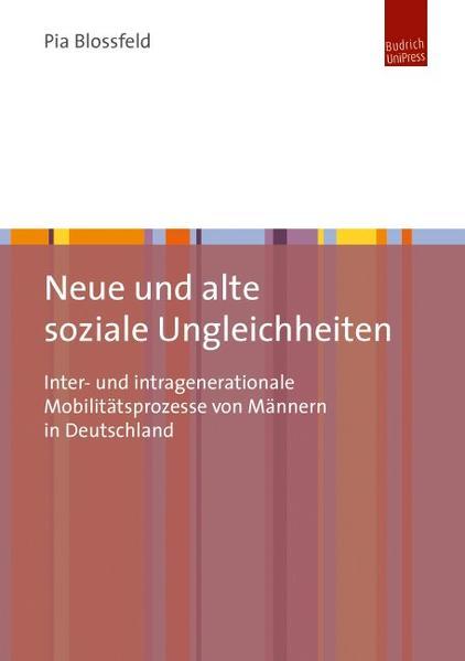 Neue und alte soziale Ungleichheiten - Coverbild