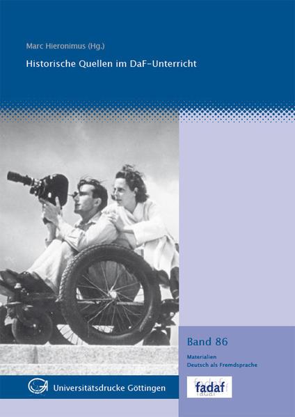 Historische Quellen im DaF-Unterricht - Coverbild