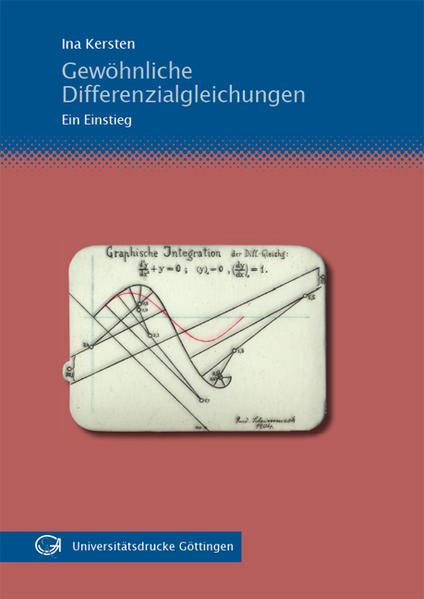 Gewöhnliche Differenzialgleichungen - Coverbild