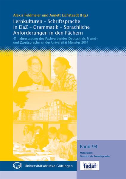 Lernkulturen - Schriftsprache in DaZ - Grammatik - Sprachliche Anforderungen in den Fächern - Coverbild