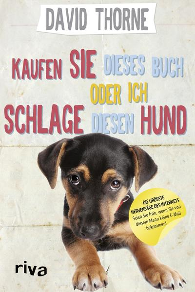 Kaufen Sie dieses Buch oder ich schlage diesen Hund - Coverbild