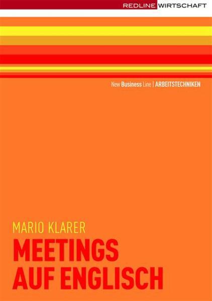 Meetings auf englisch - Coverbild