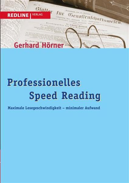 Professionelles Speed Reading - Coverbild