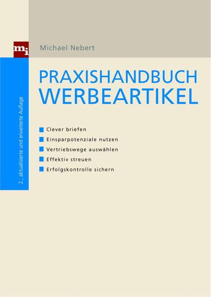 Praxishandbuch Werbeartikel - Coverbild