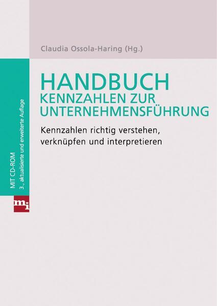 Handbuch Kennzahlen zur Unternehmensführung - Coverbild