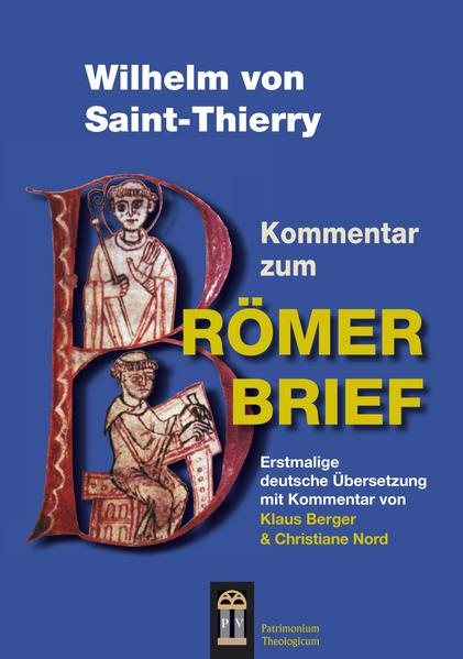 Wilhelm von Saint-Thierry - Coverbild