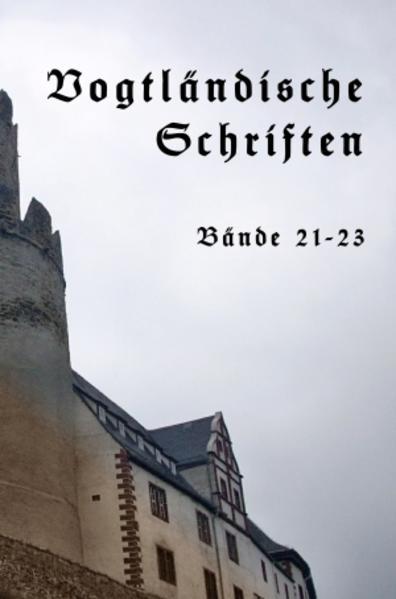 Vogtländische Schriften Band V - Coverbild