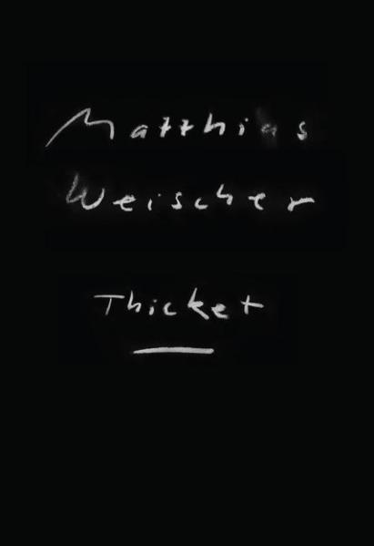 Matthias Weischer: Thicket - Coverbild