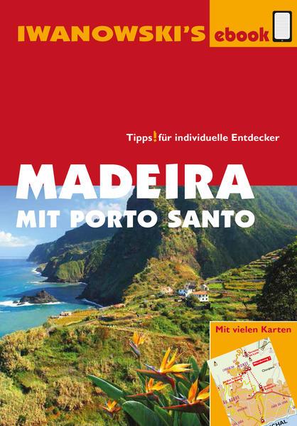 Madeira mit Porto Santo - Reiseführer von Iwanowski - Coverbild