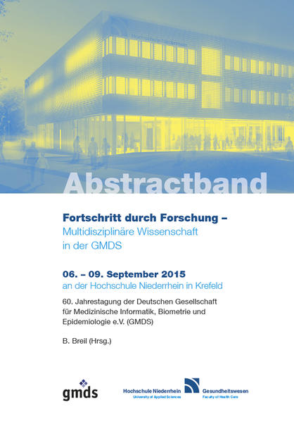 Abstractband GMDS 2015 - Coverbild