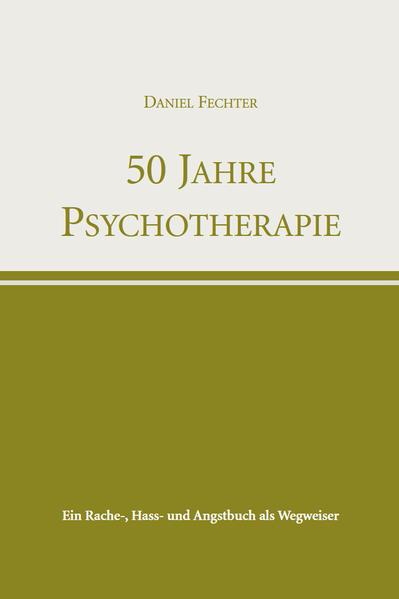 50 Jahre Psychotherapie - Coverbild