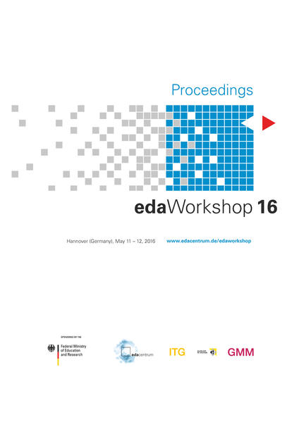 Proceedings - edaWorkshop 16 - Coverbild