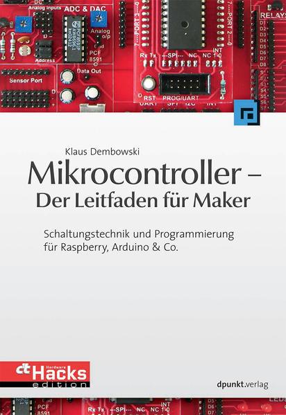 Mikrocontroller - Der Leitfaden für Maker - Coverbild