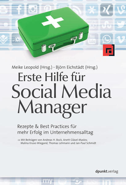 Erste Hilfe für Social Media Manager - Coverbild