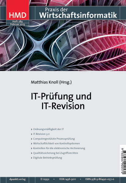IT-Prüfung und IT-Revision - Coverbild