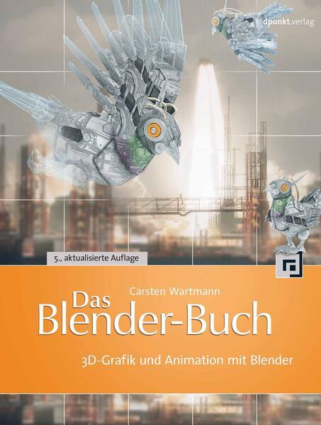 Das Blender-Buch - Coverbild