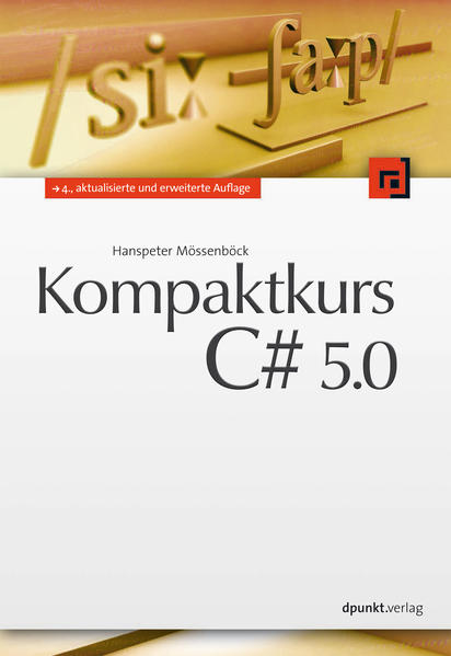Kompaktkurs C# 5.0 - Coverbild