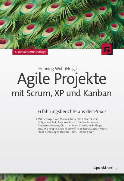 Agile Projekte mit Scrum, XP und Kanban - Coverbild