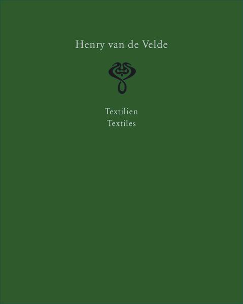 Henry van de Velde. Raumkunst und Kunsthandwerk  Interior Design and Decorative Arts - Coverbild