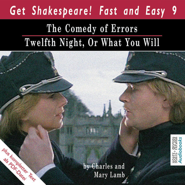 The Comedy of Errors / Twelfth Night, Or What You Will - Coverbild