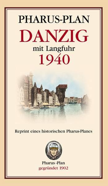 Pharus-Plan Danzig mit Langfuhr 1940 - Coverbild