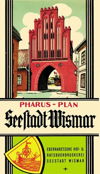 Pharus-Plan Seestadt Wismar 1938 - Coverbild