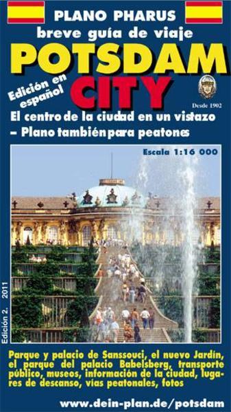 Plano Pharus breve guía de viaje Potsdam City - Coverbild