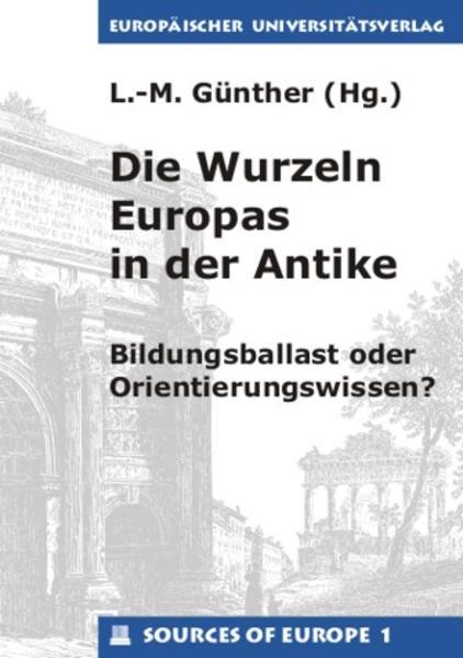 Die Wurzeln Europas in der Antike - Coverbild