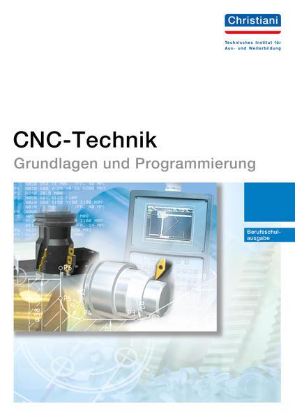 CNC-Technik - Grundlagen und Programmierung - Coverbild