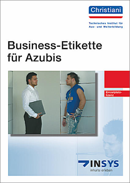 Business-Etikette für Azubis - Coverbild