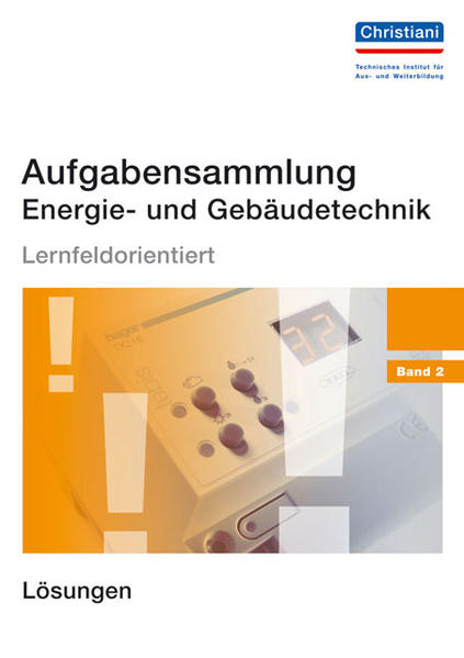 Aufgabensammlung Energie- und Gebäudetechnik Band 2 - Coverbild