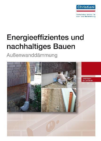 Energieeffizientes und nachhaltiges Bauen - Außenwanddämung - Coverbild