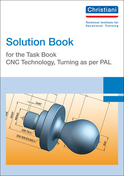 Solution Book for the Task Book - CNC Technology, Turning as per PAL - Coverbild