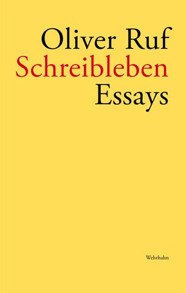 Schreibleben - Coverbild