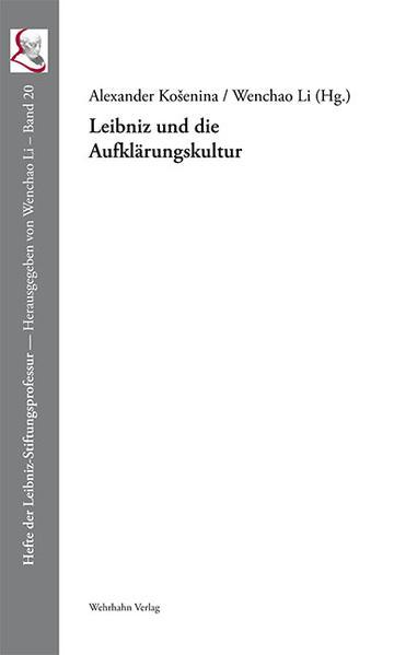 Leibniz und die Aufklärungskultur - Coverbild