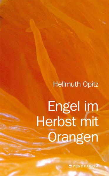 Engel im Herbst mit Orangen - Coverbild