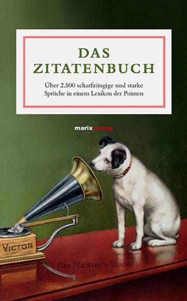 Das Zitatenbuch - Coverbild