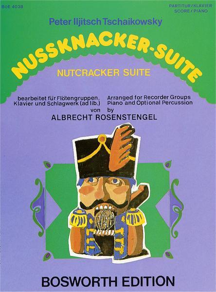 Nussknacker-Suite für Blockflöten-Gruppe - Coverbild