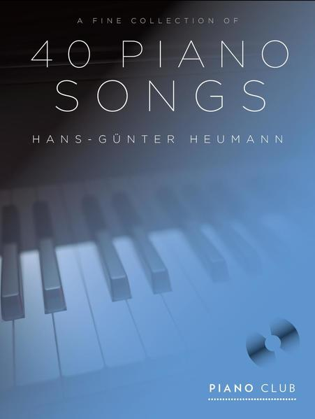 Piano Club - A Fine Selection 40 Piano Songs - Coverbild