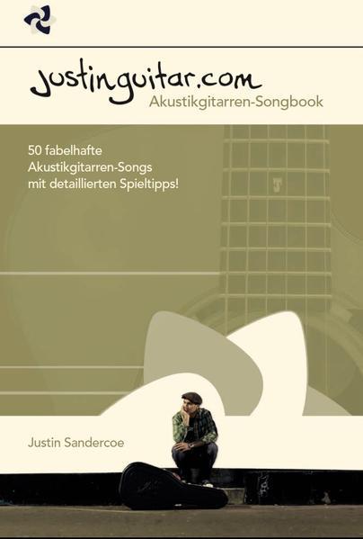 Justinguitar.com - Das Akustikgitarren-Songbook - Coverbild